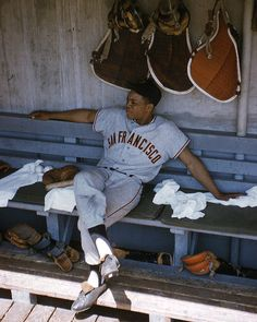 Willie Mays by Retro Images Archive Baseball Socks, Giants Baseball, Sports Baseball, Baseball Cards, America's Favorite Pastime, Giants Team, Willie Mays, Retro Images, Image Archive