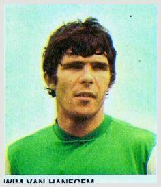 Wim Van Hanegem of Feyenoord in 1970.