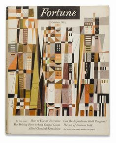 Fortune Magazine, October 1954  Illustrated by S. Neil Fujita
