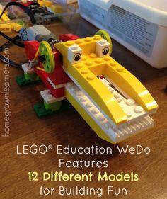 LEGO® Education WeDo Robotics in YourHomeschool - Home - Homegrown Learners