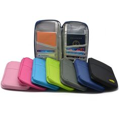 Credit card and Travel Passport Wallet - AuroraSuperStore - Where the best gifts are awaiting!