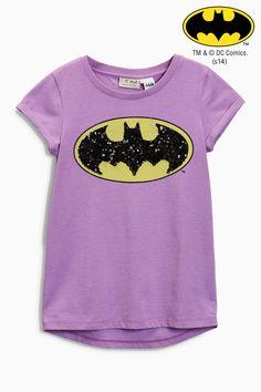 Buy Purple Batman® T-Shirt (3-16yrs) from the Next UK online shop