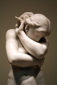 Rodin, The Fall of Eve, Art Institute of Chicago - Art Curator & Art Adviser. I am targeting the most exceptional art! Auguste Rodin, Modern Sculpture, Sculpture Art, Statues, Camille Claudel, Carpeaux, Art Advisor, Chicago Art, Art Institute Of Chicago