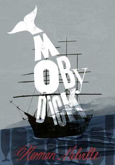 """""""Moby-Dick"""" by Herman Melville on Textbooks.com #textbooks #bookdesign"""