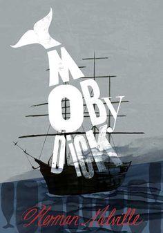 Moby Dick by Shelley Revill (UK)  http://shelleyrevill.com/Illustration
