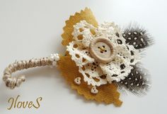 Boutonniere - Custom Made to meet your Theme. $15.00, via Etsy.