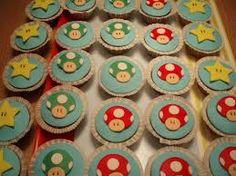 Afbeeldingsresultaat voor mario cupcakes