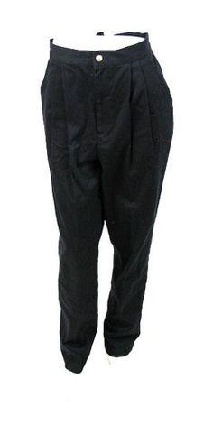 LKNW ~ST. JOHN SPORT Black COTTON BLEND Straight Leg CLASSIC FIT Dress PANTS L 8 | eBay