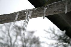 Schnee- und Frost-Impressionen, Snow and Frost Impressions, Eiszapfen, Icicles