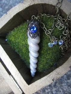 Collier corne de licorne