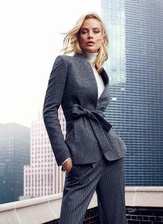 Carolyn Murphy Fronts Massimo Dutti NYC Fall 2013 Ads by Hunter & Gatti