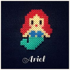 Ariel perler beads by siamparagoy