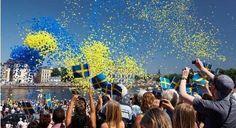 A celebration in Sweden