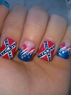 Confederate flag nail airt pinterest confederate flag flags rebel flag prinsesfo Gallery