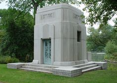 Art Deco mausoleum