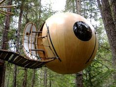 Canadian Tree Sphere, Recycled House, Martello Towers : World's Most Extreme Homes : Home & Garden Television