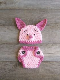 julies blog: Crochet Baby Costumes ANNA how cute would Lily look in this!!