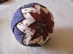 Cómo hacer esfera con patchwork sin aguja de estilo country   Portaldelabores.com   Portal de labores