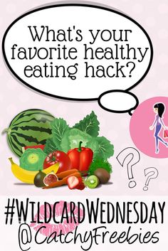 On #WildcardWednesday, the top commenter wins a #sample of their choice! It's National Healthy Eating Day, so tell us your favorite #health hack! #cleaneating #HealthyEatingDay