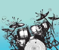 Beginners guide to buying a drum kit – V-Drums Drum Drawing, Drums Artwork, Vinyl Record Shop, Drum Tattoo, Drum Room, Wax Art, How To Play Drums, Music Wallpaper, Scrapbook Cards