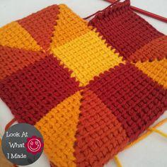 tunisian crochet | Tunisian Crochet Ten Stitch Blanket Lookatwhatimade Crochet 150x150 ...
