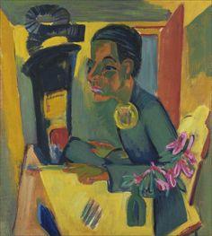 Ernst Ludwig Kirchner · Self Portrait · 1920 · Unknown locatio