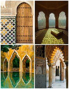 Esempi di architettura moresca - Examples of Moorish architecture