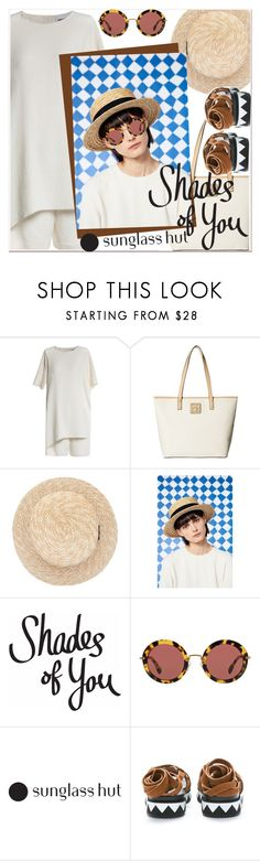 """""""Shades of You: Sunglass Hut Contest Entry"""" by paculi ❤ liked on Polyvore featuring Calvin Klein, Miu Miu and shadesofyou"""