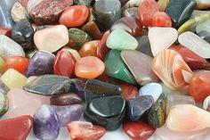 Tumbled stone mixtures