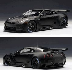 Cars gtr tuned nissan blacked out