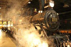 Illuminated Trains #exporail #trains #museum exporail.org