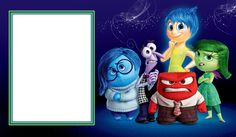 Inside Out PNG Photo Frame