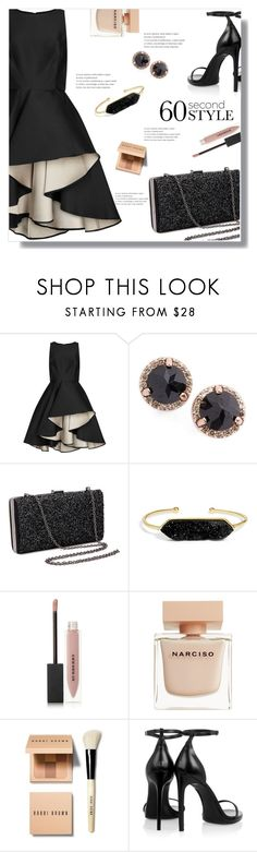 """""""Flashbacks."""" by arwitaa on Polyvore featuring Halston Heritage, Anna Sheffield, BaubleBar, Burberry, Narciso Rodriguez, Bobbi Brown Cosmetics, Yves Saint Laurent, asymmetricskirts and 60secondstyle"""