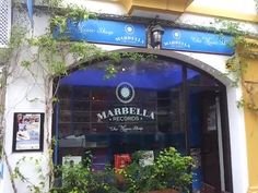 Marbella Records Music Shop,C/ Ancha, MARBELLA,Casco Antiguo Marbella Marbella Old Town, Shop Signage, Record Collection, Recording Studio, Vinyl Records, Videos, Studios, Beautiful Places, Medicine