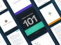 Freelancing 101 eBook [Free Download!] by Matt Olpinski Show And Tell, Free Ebooks, Web Design, This Or That Questions, Website Designs, Site Design