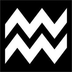 Aquarius.  Probably why I love the chevron pattern.