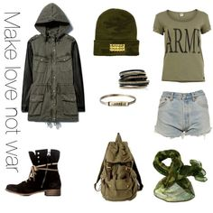Hannah's fave fashion looks Rebel/Tomboy Outfit :)