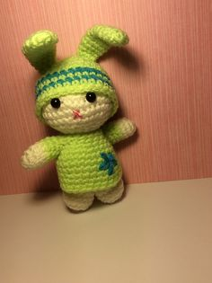 "Chummy Bunny - Free Amigurumi Pattern - PDF Format - Click to ""download"" here: http://www.ravelry.com/patterns/library/chummy-bunny-in-orange"