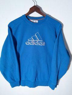 Vtg Adidas sweatshirt windbreaker nike by FoxVintageClothing