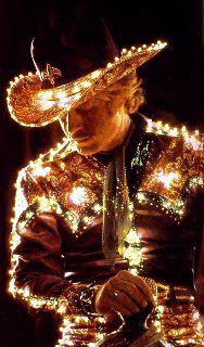 Robert Redford as electric horseman