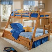 Found it at Wayfair - Twin over Full Standard Bunk Bed with Underbed Storage