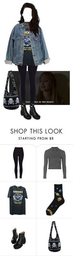 """""""Untitled #62"""" by stomey ❤ liked on Polyvore featuring Topshop, Dr. Martens and Levi's"""