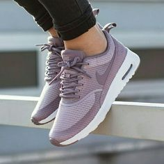 Nike Airmax Thea Purple Dusty Pink Selling my limited release Theas purchased during my trip to Europe. These are rare and will not be released in the US. My price is not set, but please don't no lowball offers. Nike Shoes Sneakers