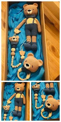 Amigurumi Tiny Teddy Bear Free Pattern – Amigurumi Free Patterns And Tutorials : Amigurumi Tiny Teddy Bear Free Pattern – Amigurumi Free Patterns And Tutorials Crochet Baby Toys, Knit Or Crochet, Crochet Animals, Crochet Dolls, Free Crochet, Crochet Patterns Amigurumi, Amigurumi Doll, Tiny Teddies, Crochet Projects