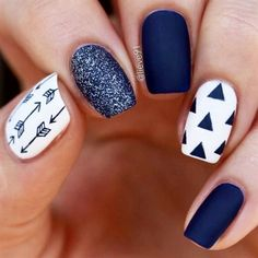 864cf80d6 Cute Winter Nails Designs to Inspire Your Winter Mood ☆ See more   nails