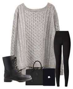 """""""Vlog day 3"""" by khaelynn ❤ liked on Polyvore featuring Yves Saint Laurent, Charlotte Russe and lululemon"""