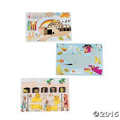 Bible Story Stickers