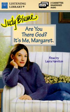 Are You There God? It's Me Margaret, by Judy Blume #YA #YoungAdult #BookCover Book Lists, Books Online, Fiction, Author, God, Reading, Cover, Judy Blume, Dios