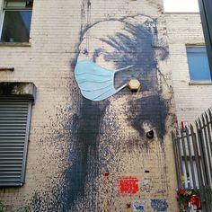 Banksy after Covid Graffiti Art, Art Banksy, Murals Street Art, Bansky, Bristol Street, Bristol Uk, Art Environnemental, Art Public, Street Art Utopia