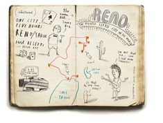 Oliver Jeffers | Love NMA in the lower left corner